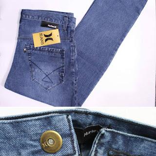 celana jeans hurley pria skinny