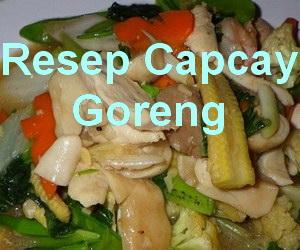 Resep Capcay Goreng Bakso Ikan Spesial