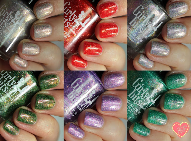 Girly Bits Spring Collection 2019 swatches by Streets Ahead Style