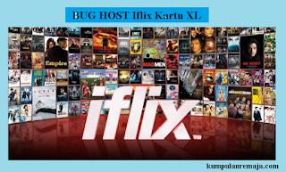 50 Bug Host Iflix untuk Kartu XL 2018 Terbaru