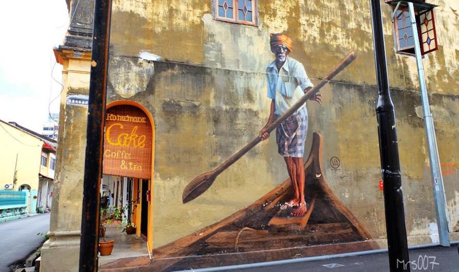 Nag on the lake gorgeous murals in malaysia for Mural 1 malaysia negaraku