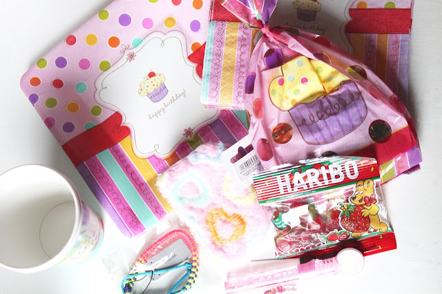 pre filled children's party bags