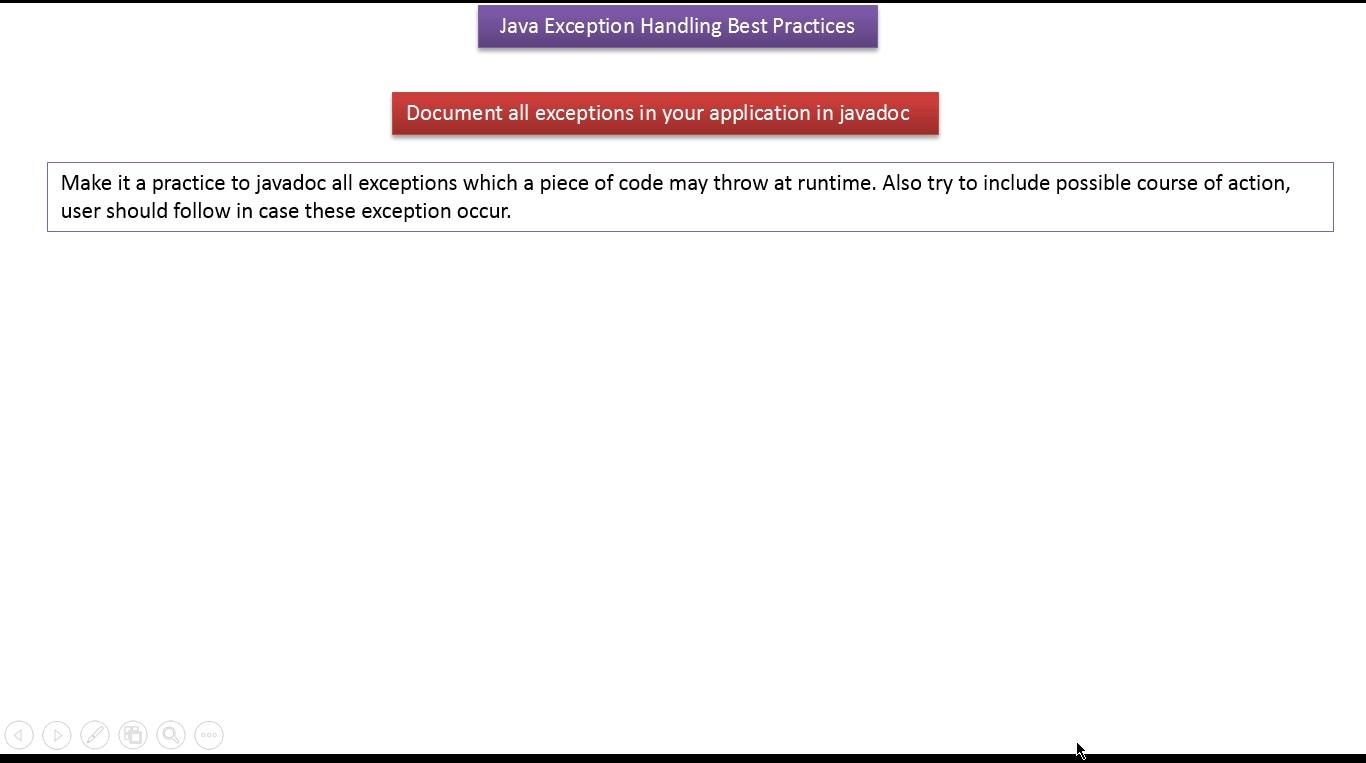 Java 5 tutorial images any tutorial examples java ee java tutorial java exception handling best practices java tutorial java exception handling best practicespart baditri Images