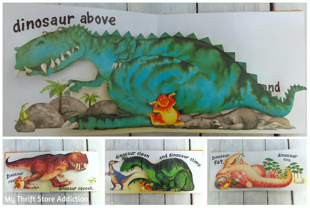 Dinosaurs Galore pop-up book