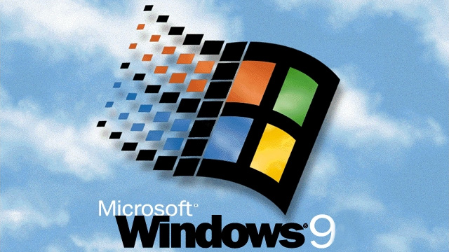 windows 95 (9 ou th) logo