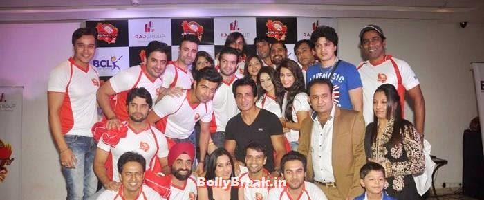 Karan Patel, Sonu Sood, Rajiv Thakur, Photos From Jaipur Raj Joshilay Team Jersey Launch