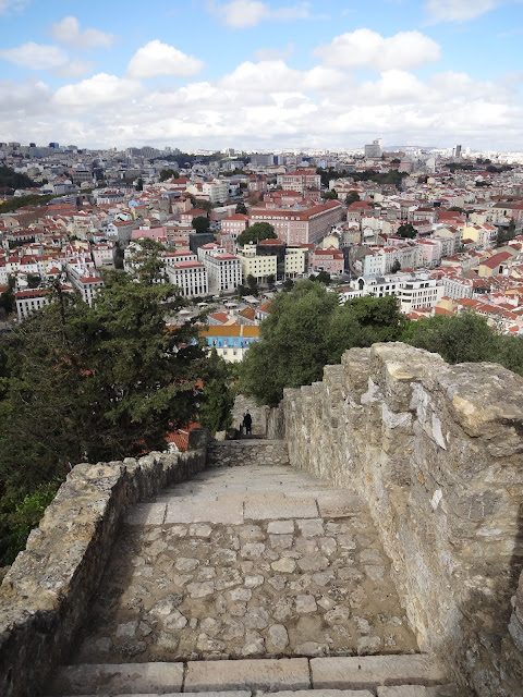 Views at Sao Jorge Caslte