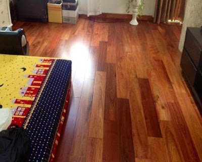 Sàn gỗ tự nhiên ngọn lửa giữ ấm gia đình