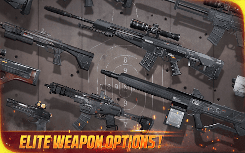 Many Kind Guns in this action game
