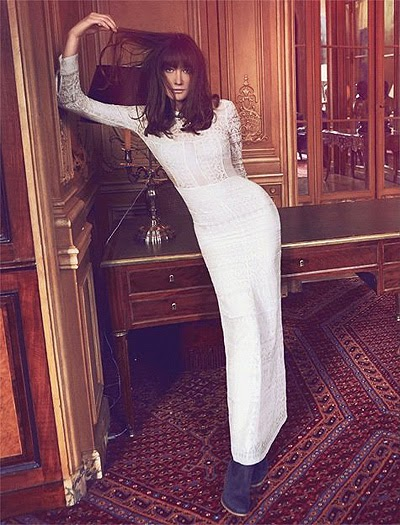 Carla Bruni photo shoot