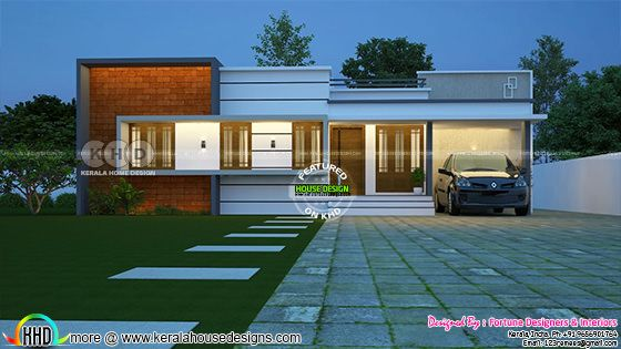 Cute small budget 1300 sq-ft 3 bedroom house