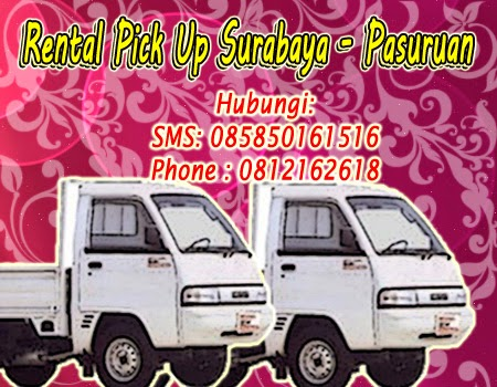 Sewa-Rental Pick Up Zebra Surabaya ke Pasuruan
