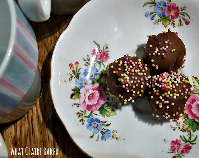 no bake nutella truffles