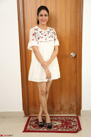 Lavanya Tripathi in Summer Style Spicy Short White Dress at her Interview  Exclusive 270.JPG