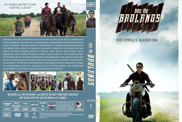Into The Badlands Season 1 DVD Cover