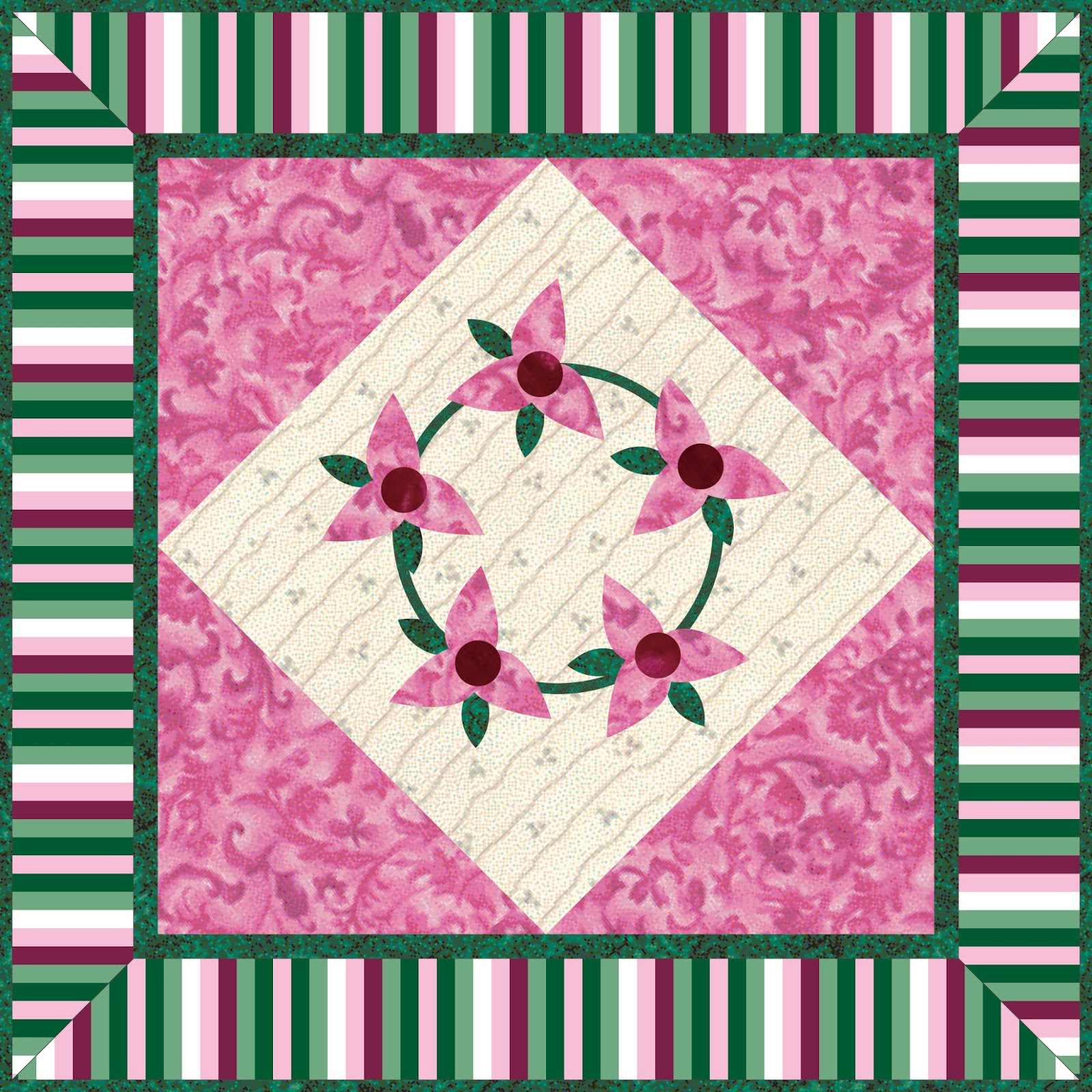 Debby Kratovil Quilts: 2016 Calendar Girls