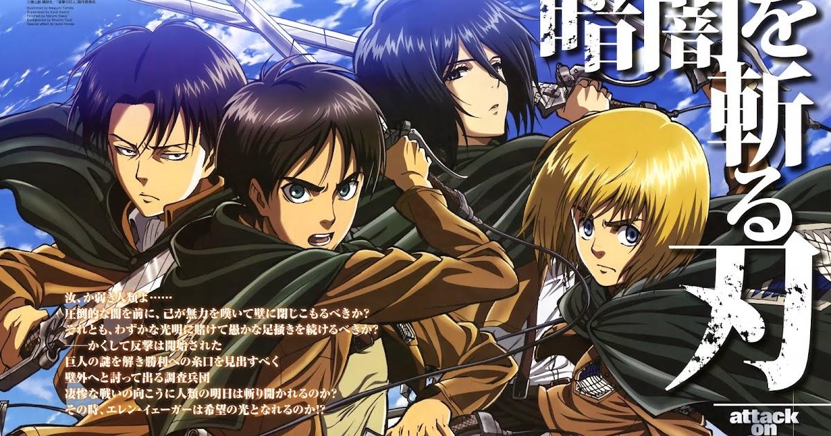 Poster Anime Shingeki No Kyojin Attack on Titan