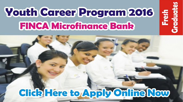 Trainee Jobs in FINCA Microfinance Bank Limited for Fresh Graduates Apply online