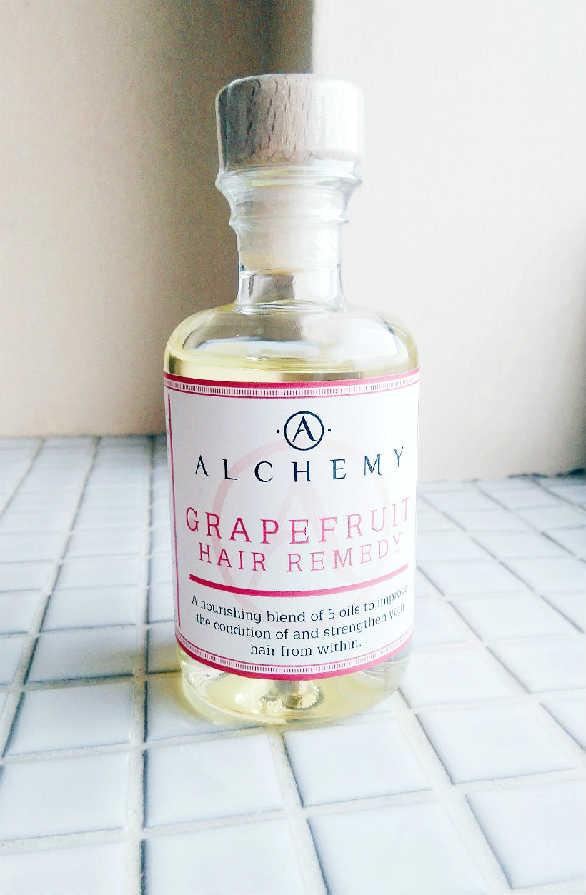 Alchemy Oils Grapefruit Hair Remedy