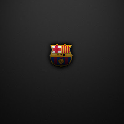 FC Barcelona logo download free wallpapers for Apple iPad
