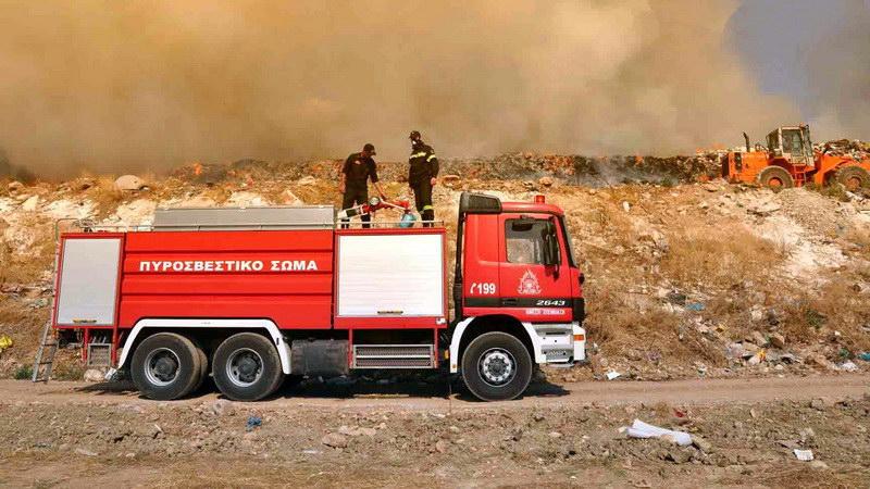 Σε ύφεση η πυρκαγιά στην περιοχή της Μάκρης Αλεξανδρούπολης