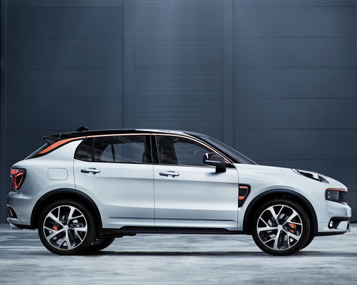 Tinuku.com Geely and Volvo unveiled new brand Lynx & Co and 01 SUV most connected car in the world