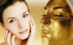 Gambar Masker Emas 24K Facial Kulit Wajah Kencang dan Halus
