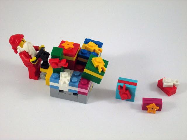 MOC LEGO Pai Natal e as prendas