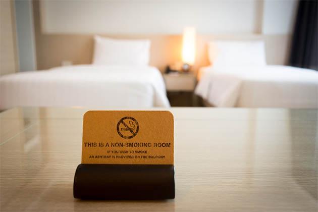 Fumar nos hotéis da Disney em Orlando