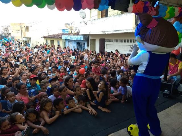 Em seu primeiro ano, Festa das Crianças é sucesso em Chã Grande