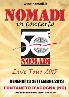 I Nomadi inaugurano la stagione del Phenomenon Club il 13 settembre!