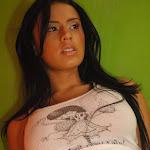 Andrea Rincon – Selena Spice – Sexy Top Blanco y Tanga Negra Foto 69