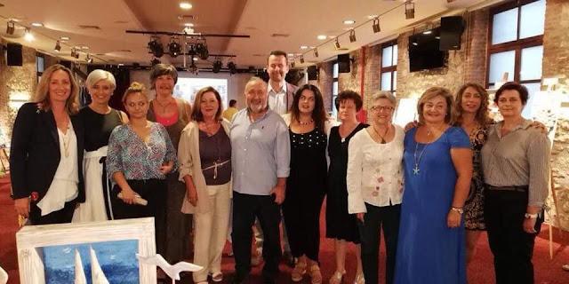 Πραγματοποιήθηκαν τα εγκαίνια της έκθεσης στο Άργος από την Καλλιτεχνική Ομάδα Ερμιονίδας