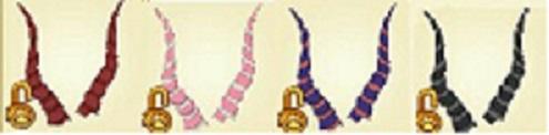 Animal Jam Universal Gazelle Horns
