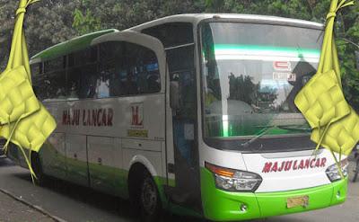 Harga Tiket Lebaran 2017 Bus Maju Lancar Jurusan Jogja, Wonosari, Semin