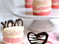 HOW TO MAKE MINI OMBRE CAKES
