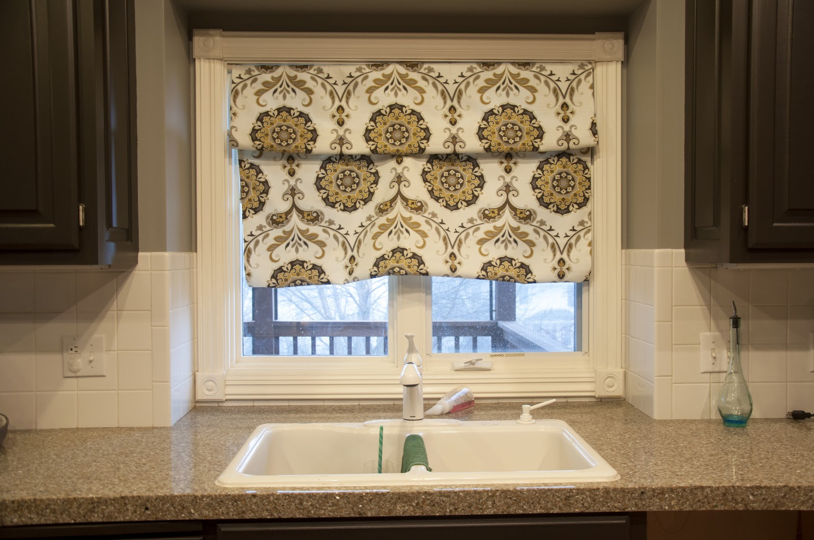 How To Make Roman Shades With Tension Rods
