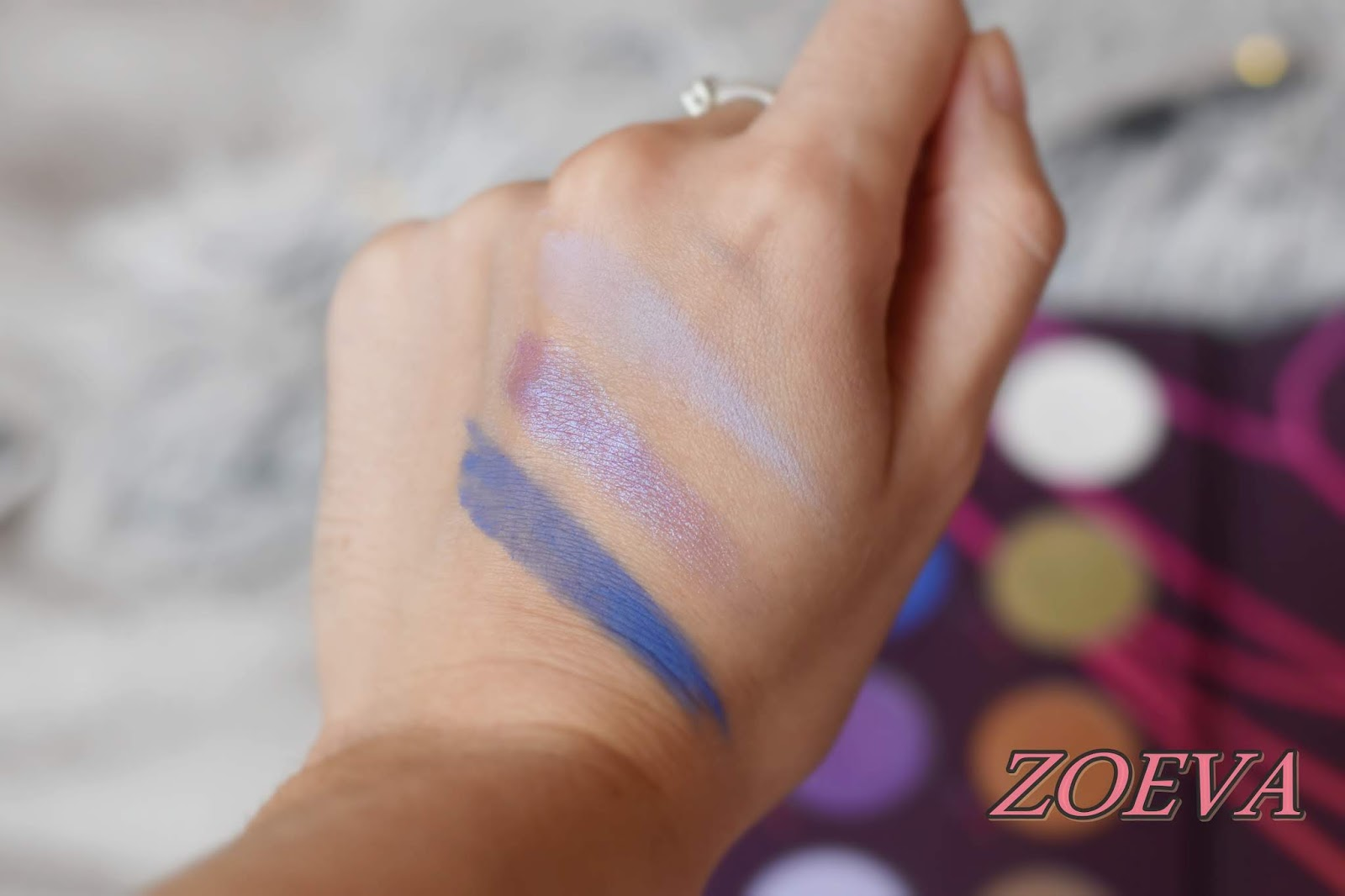 zoeva retro future swatches