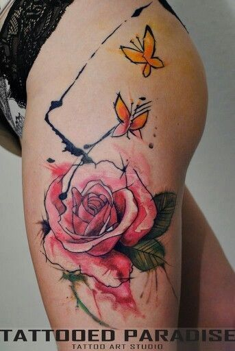 Awesome Watercolor Tattoos For Women