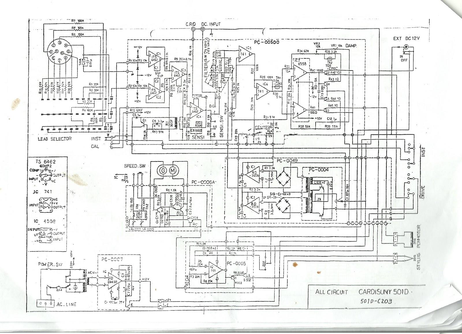 Live_is_flow: Wiring Diagram Dasar ECG
