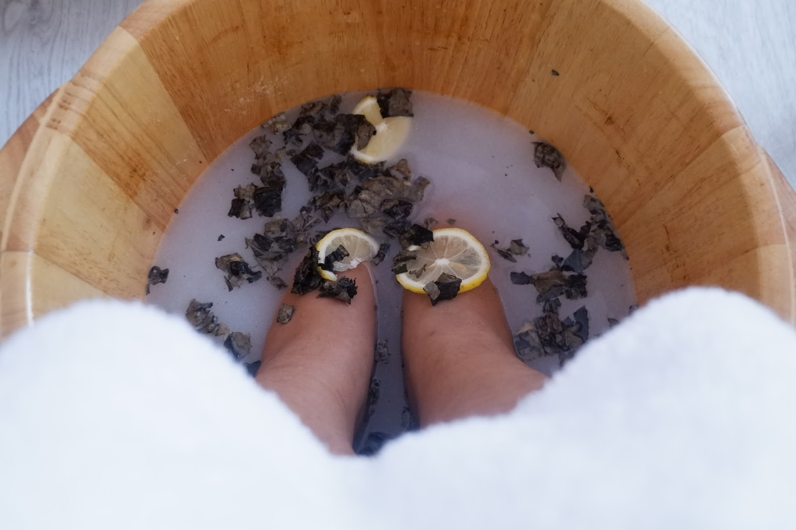 HOPE HAND AND FOOT WELLNESS: SUGAR, SPICE AND EVERYTHING NICE TREATMENT EXPERIENCED