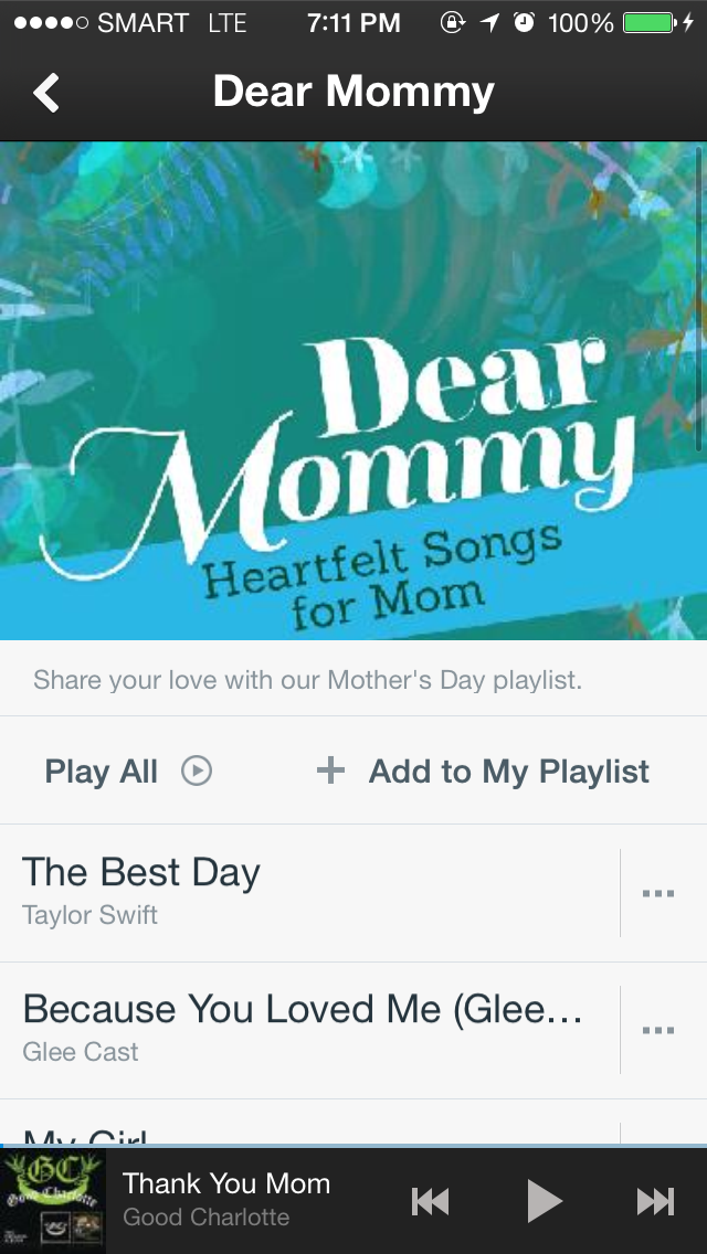 Phonographic Blogs: Say 'Happy Mother's Day!' with a song through SPINNR