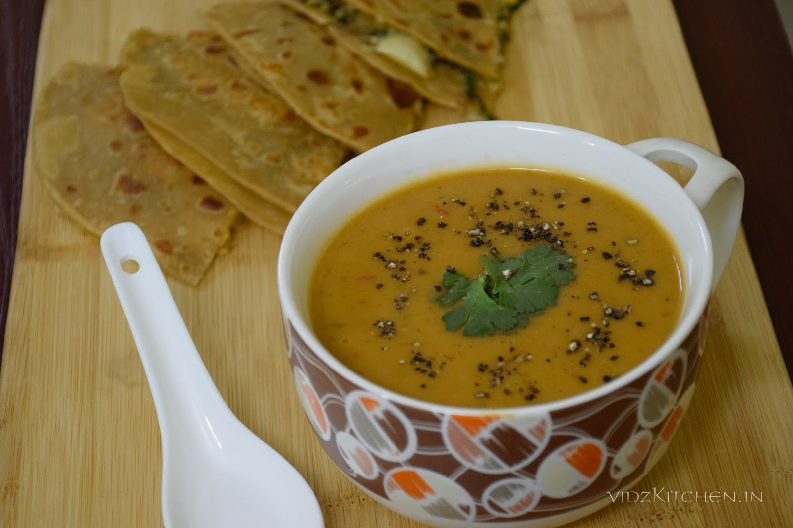 Moong and Carrot Soup