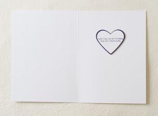 Bloomin' Love, Wedding card