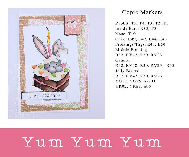 Heather's Hobbie Haven - Yum Yum Yum Card Kit