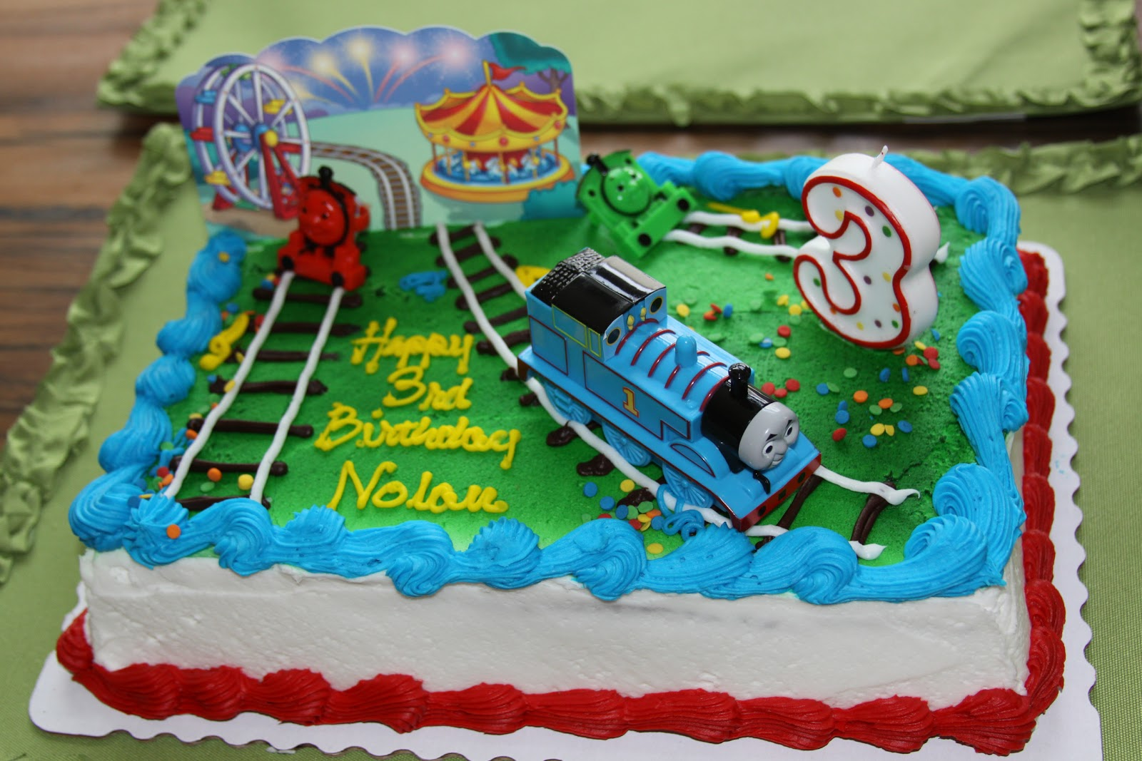 Hearts And Hands A Thomas The Train Birthday Party