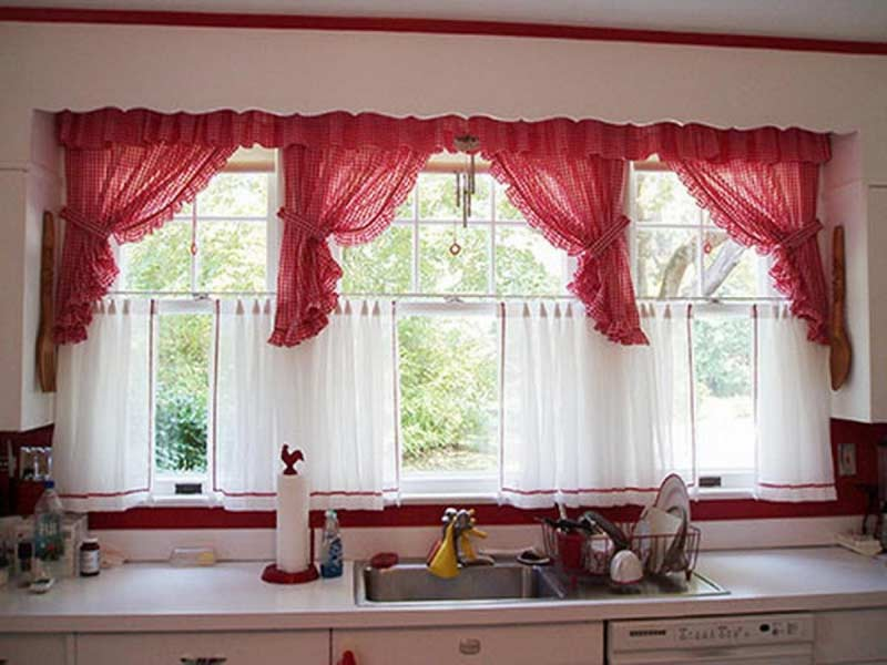 the best curtain designs ideas and colors for kitchen 2018, kitchen curtains 2018