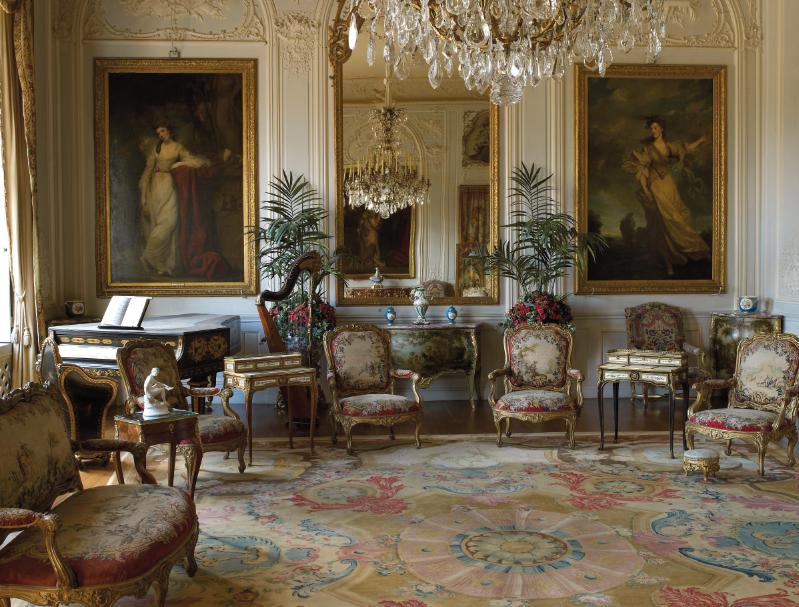 English Manor House Interiors (15 Image)  Office Furniture