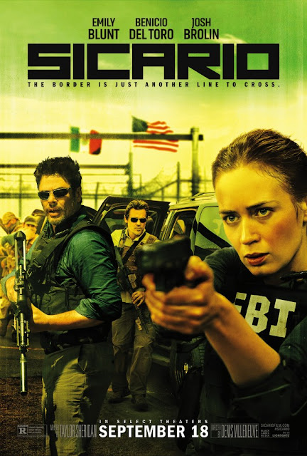 Sicario, Movie Poster, Emily Blunt, Denis Villeneuve