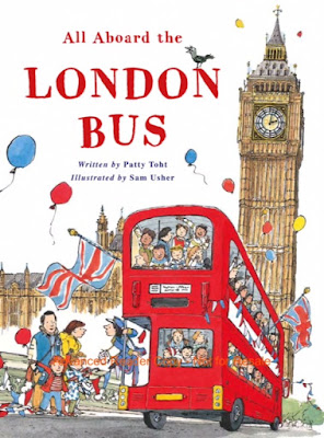 All Aboard the London Bus - a bookwrap